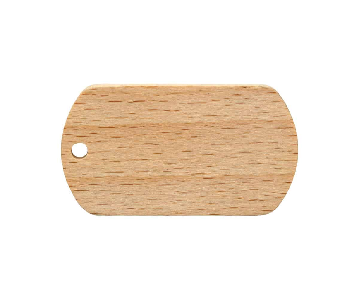 Dog Tag Holz