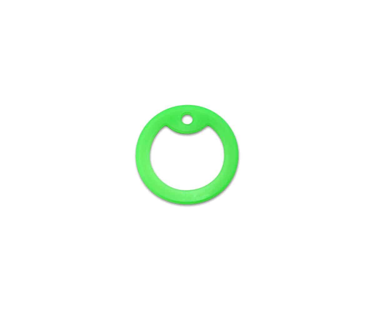 Silencer grün leuchtend