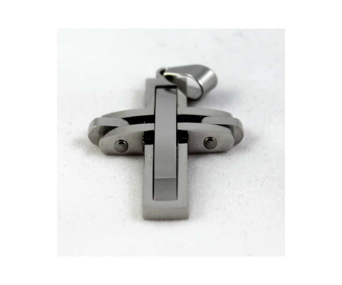 Moderner Kreuz Anhänger